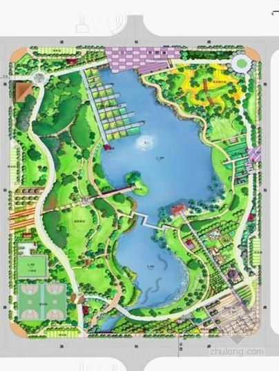 社区附属公园景观概念设计方案