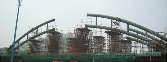 特大桥简支钢管拱施工组织设计(顶推法 实施)