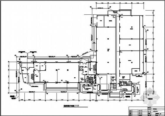 某电讯楼办公楼给排水竣工图