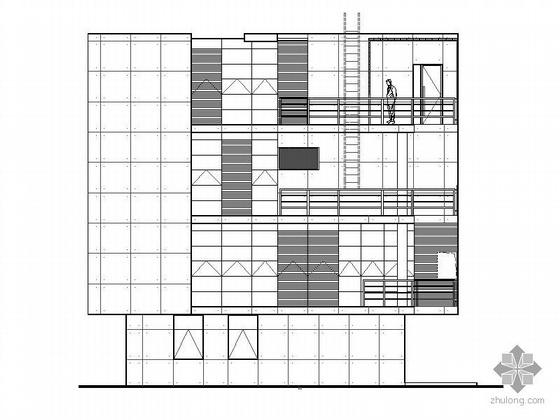 某四层住宅式私人会所建筑施工图(含效果图)