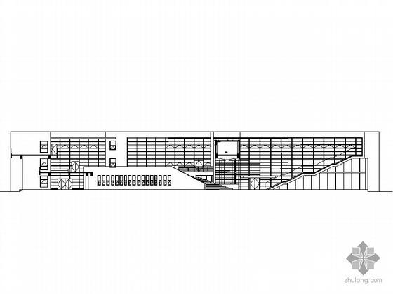[上海]某大学四层现代风格教学楼建筑施工图