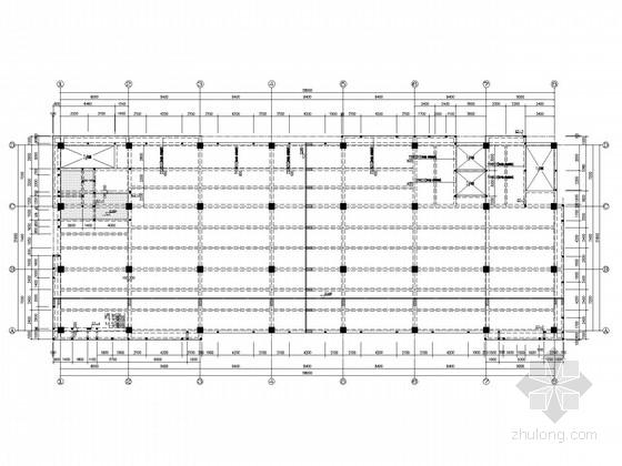 [南京]产业化基地四层框架厂房结构施工图