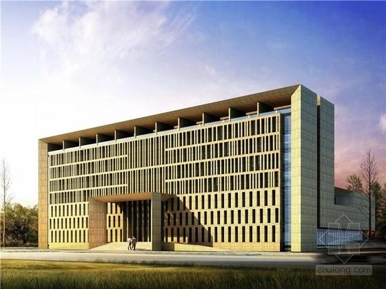 [天津]城市新区展览和服务中心建筑概念方案设计文本