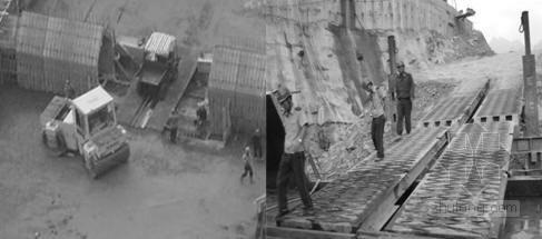 [四川]大渡河水电站导流明渠及坝体工程施工组织设计