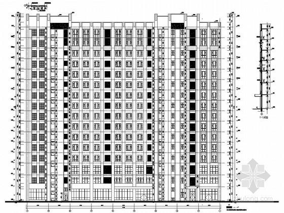 16层框剪结构人民医院儿科病房楼结构施工图(含详细建筑图)