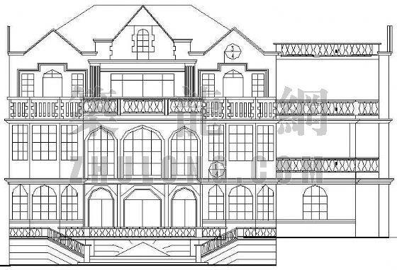 某欧式别墅设计方案