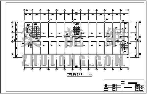 某社区服务中心综合楼给排水设计图