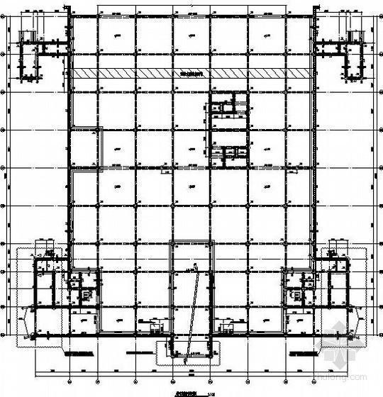 [重庆]地下一层人防车库结构施工图