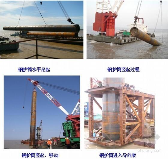 [安徽]特大桥水中钻孔灌注桩平台施工技术方案