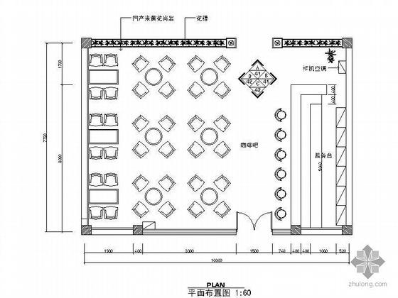 [分享]咖啡吧CAD图资料下载cadf不能按设置倒角图片