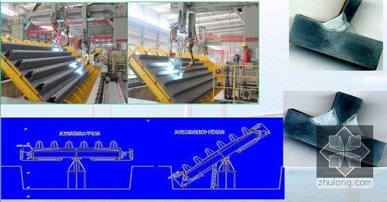 [广东]著名跨海大桥桥梁工程钢箱梁制造新工艺及关键技术解读(图文并茂)-反变形船位焊接技术