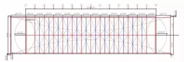 大跨度拱形钢结构安装施工工法_2