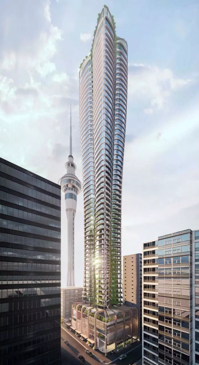 奥克兰市中心高层建筑竞赛公布!扎哈、伍兹·贝格等五家事务所入_3