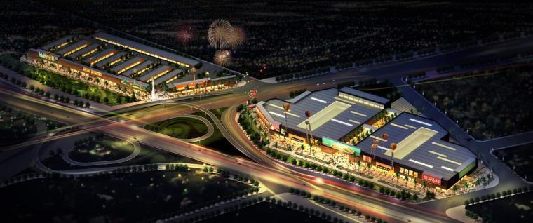 UA城的平凡建筑资料下载-[广东]某城市光辉家具城建筑方案文本设计(27页)