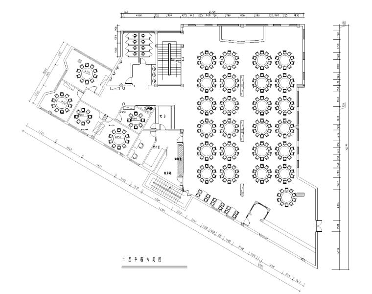 [福建]新中式风格酒楼装修设计完整施工图