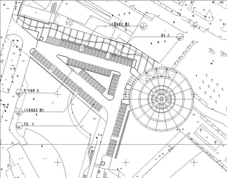 UA居住区景观设计资料下载-[广东]某海上世界居住区景观设计全套施工图(包含+42个CAD)