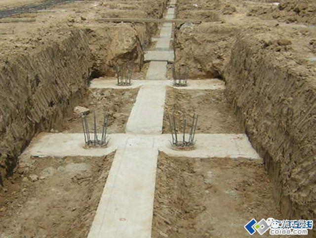 [工程实例]土方工程 钢筋 砌体施工现场照片