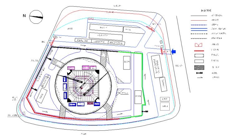 商业中心地下工程逆作法施工组织设计(钢管柱、地下连续墙)_2