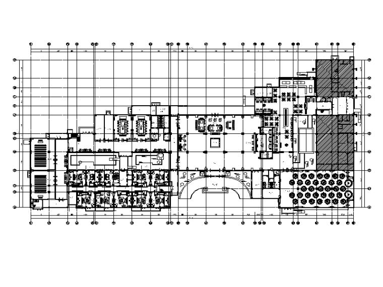 [天津]某高端大酒店设计CAD施工图