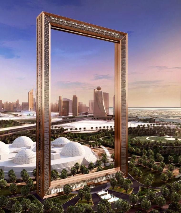 2018年迪拜用3个亿造了个冲破天际的相框_21