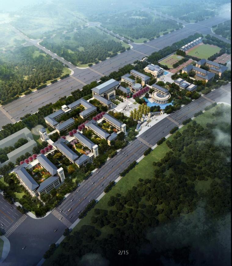 [四川]一级示范性普通高中中学建筑设计文本(jpd+cad+250页)