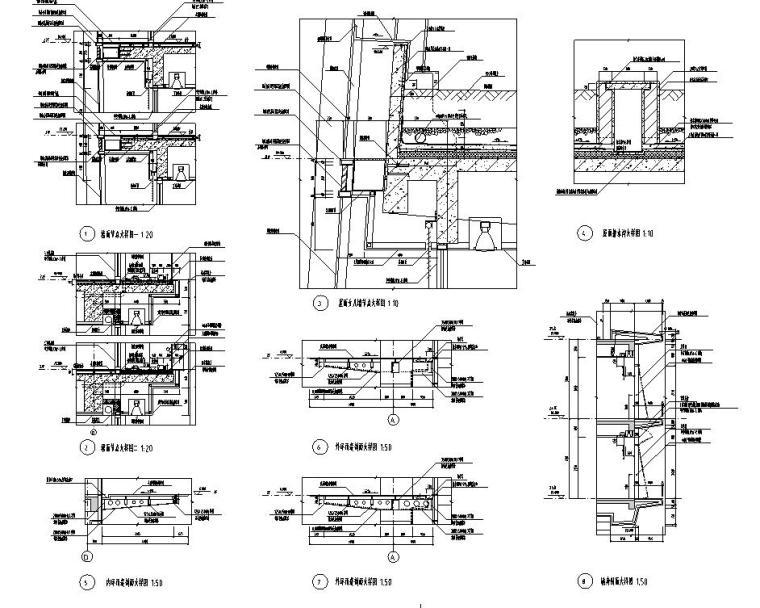 [浙江]某市市民中心楼房建筑施工图cad(56个文件夹)_1