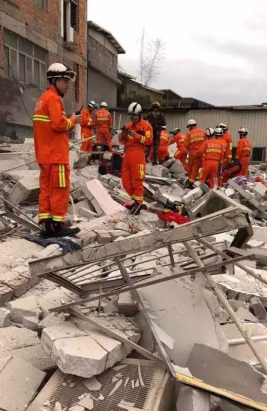 福州市一座5层民房倒塌,致3人死亡,搜救工作已完成