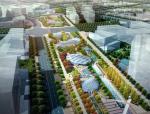 [上海]虹桥商务区轴线景观设计(现代,简约)