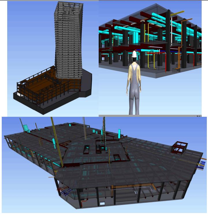 BIM項目施工實施方案(南京建工--萬豪)