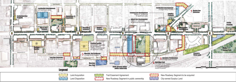 多伦多丹佛斯大街设计方案(英文)(PDF+88页)-植物配置图