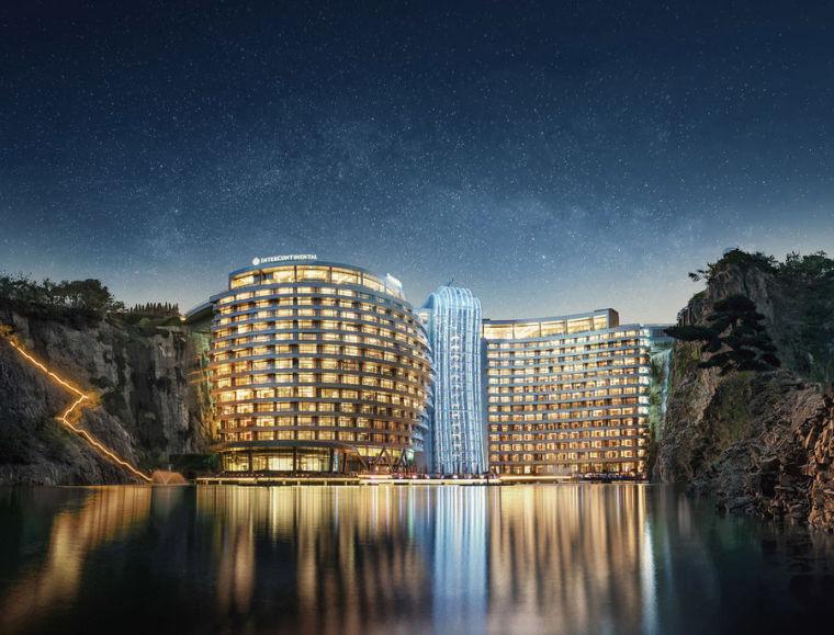世茂深坑洲際酒店室內設計