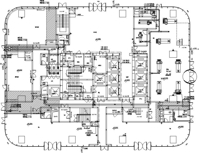 福建商业综合体电气施工图
