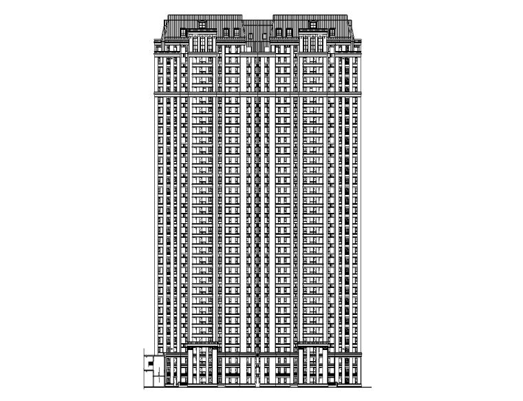[山东]华润淄博中央公园建筑施工图