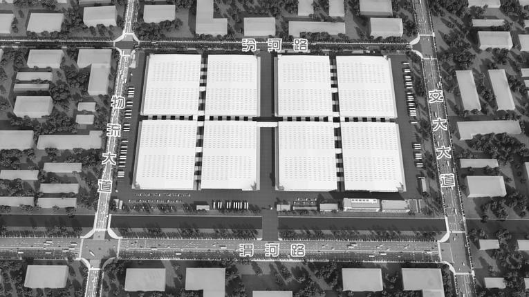 [青岛]单层门式刚架轻钢结构物流园项目施工总承包技术标(540页)