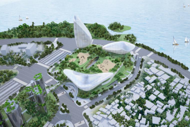 山水城市会展中心设计方案文本/MAD(PDF)
