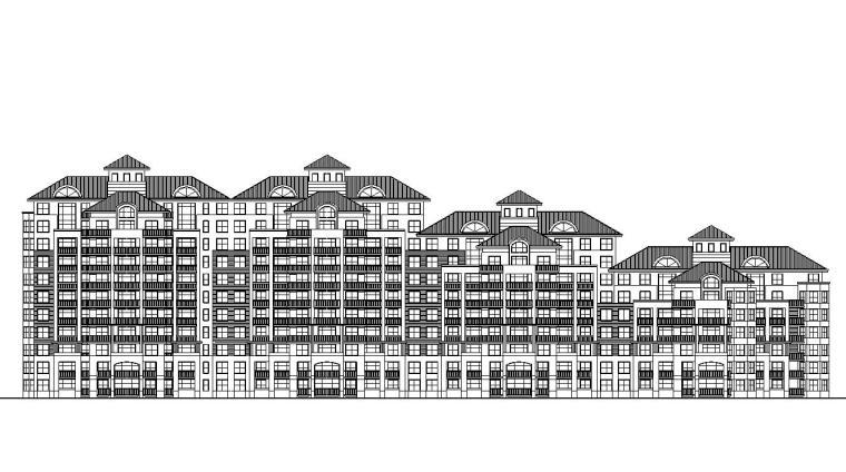 [湖北]武汉中一花园建筑施工图设计