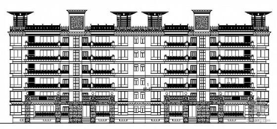 [长沙]某住宅楼外墙装饰二次深化设计施工图