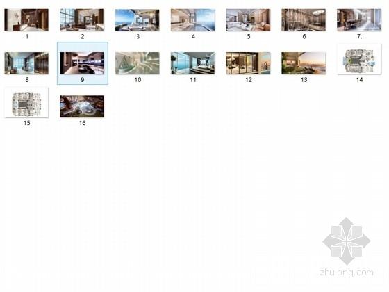 美国度假酒店室内设计方案图(英文版) 总缩略图