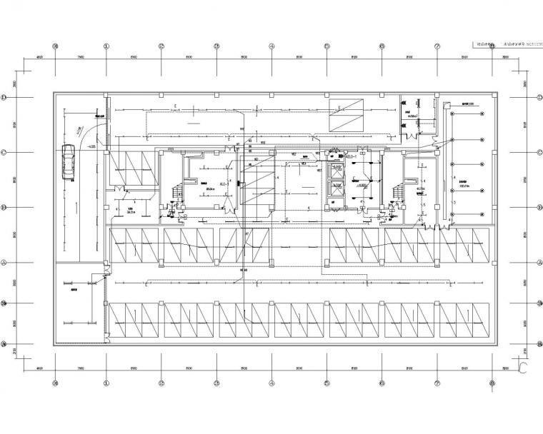 [黑龙江]科技办公楼电气施工图(大院设计)