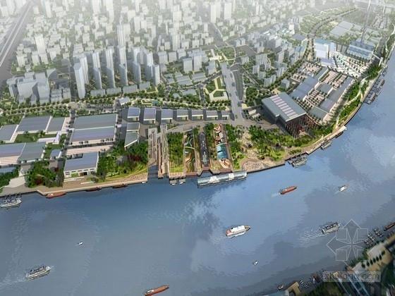 [上海]现代化都市广场公园及滨江绿地景观规划设计方案