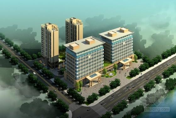 [江西]新古典主义风格海关办公楼建筑设计方案文本