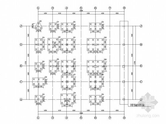[湖南]六层框架结构商住楼结构施工图