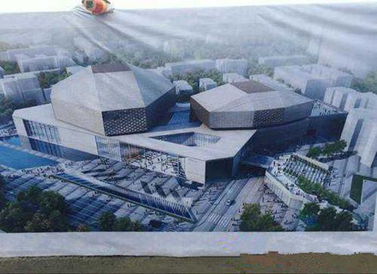 成都投22亿城市音乐厅开建,2018年8月完工!
