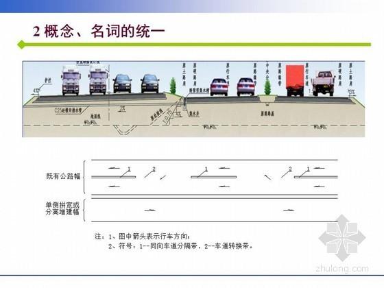 《高速公路改扩建设计细则》JTGT L11-2014规范宣贯讲义252页(图文案例)
