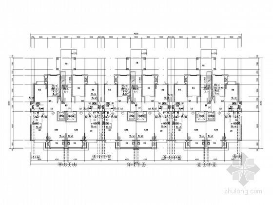 [陕西]十五层住宅楼给排水施工图纸