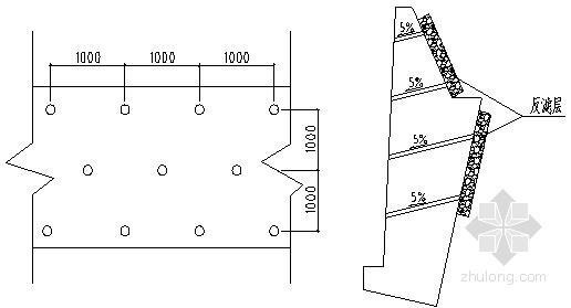 [四川]居民区边坡支护衡重式挡土墙施工方案