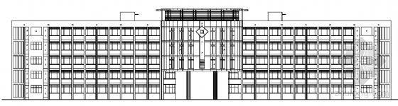 某五层小学综合楼建筑施工图