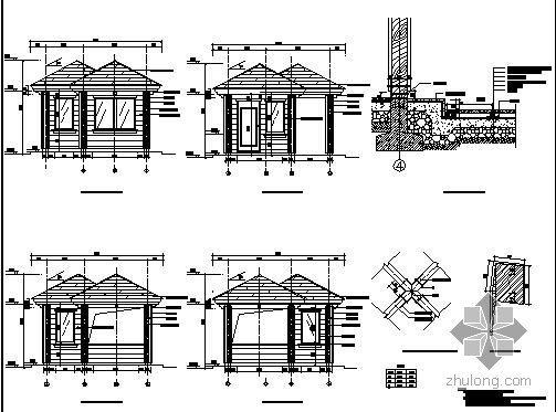 [长春]别墅景观施工图全套-3