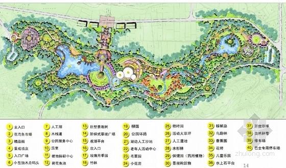 [峨眉山]植物公园总体景观规划设计方案文本