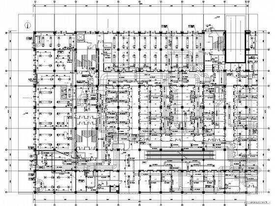 [天津]大型购物广场暖通空调设计全套施工图纸(知名院设计,含计算书)